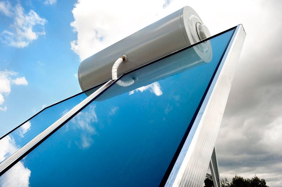 Calentador solar de agua térmico