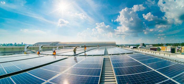 techumbre ya con paneles fotovoltaicos instalados en aguascalientes